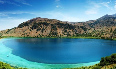 The legend of Kournas Lake
