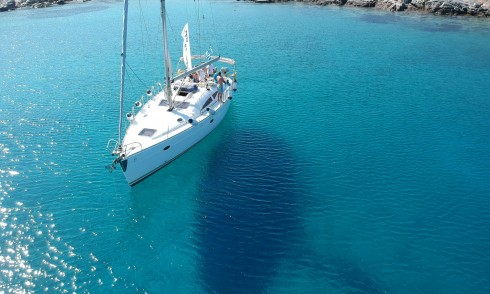 Conquering the deep blue...