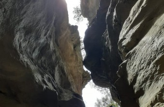 Canyoning in Kalami Gorge