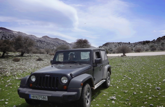 Jeep ride in South-East Crete